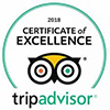Trip Advisor Certificate of Elcellence 2018